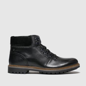 Base London Black Fawn Mens Boots