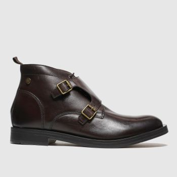 Base London Brown Ezra Mens Boots