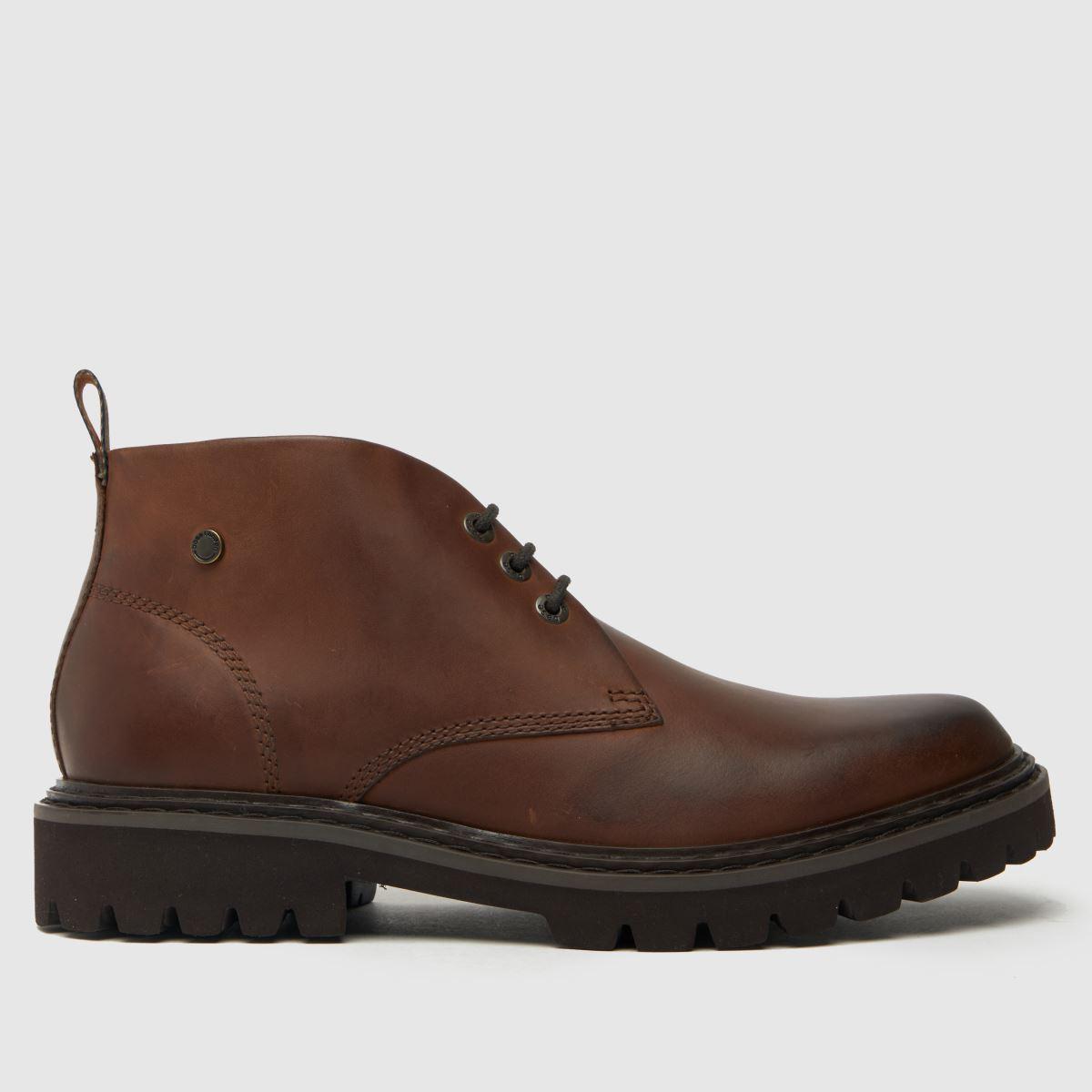 Base London Brown Ezra Boots
