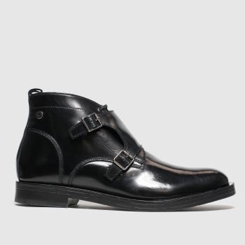 Base London Black Ezra Mens Boots
