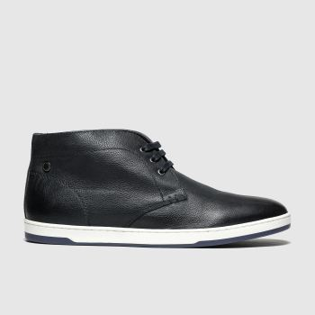 Base London Navy Tango Mens Boots