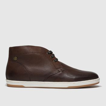 Base London Brown Tango Mens Boots