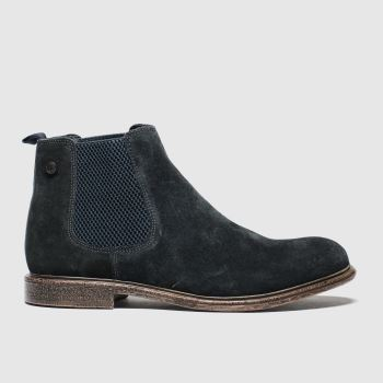 Base London Navy Flint Mens Boots
