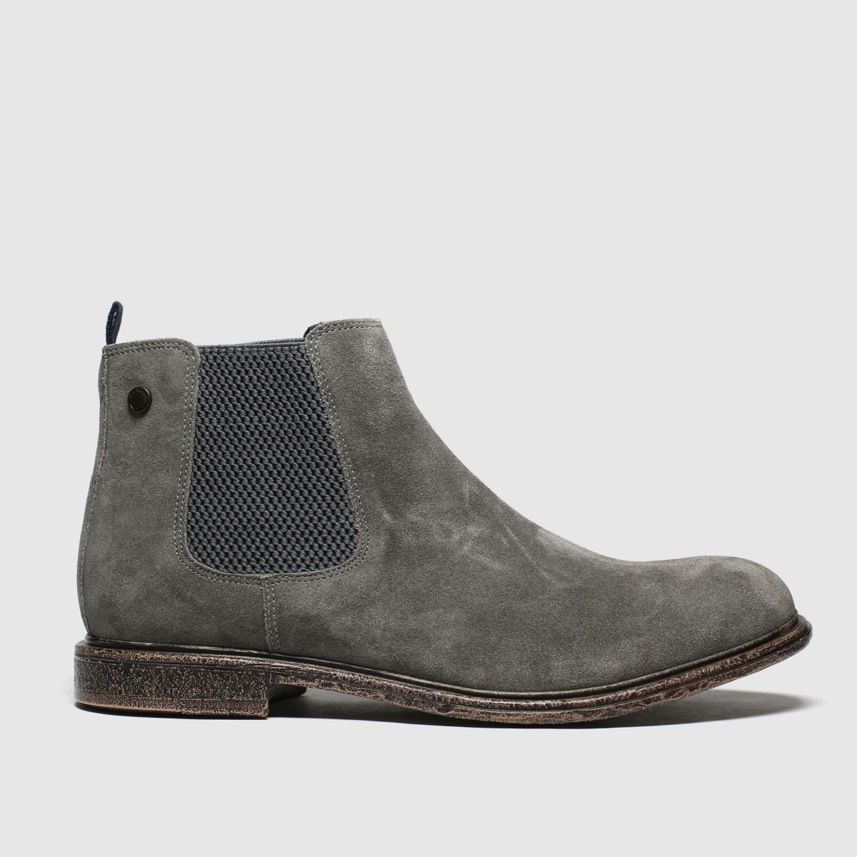 Base London Grey Flint Boots