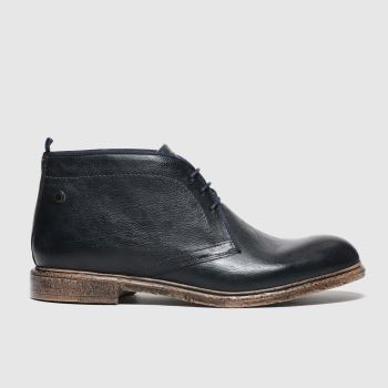 base london Navy Jasper Mens Boots