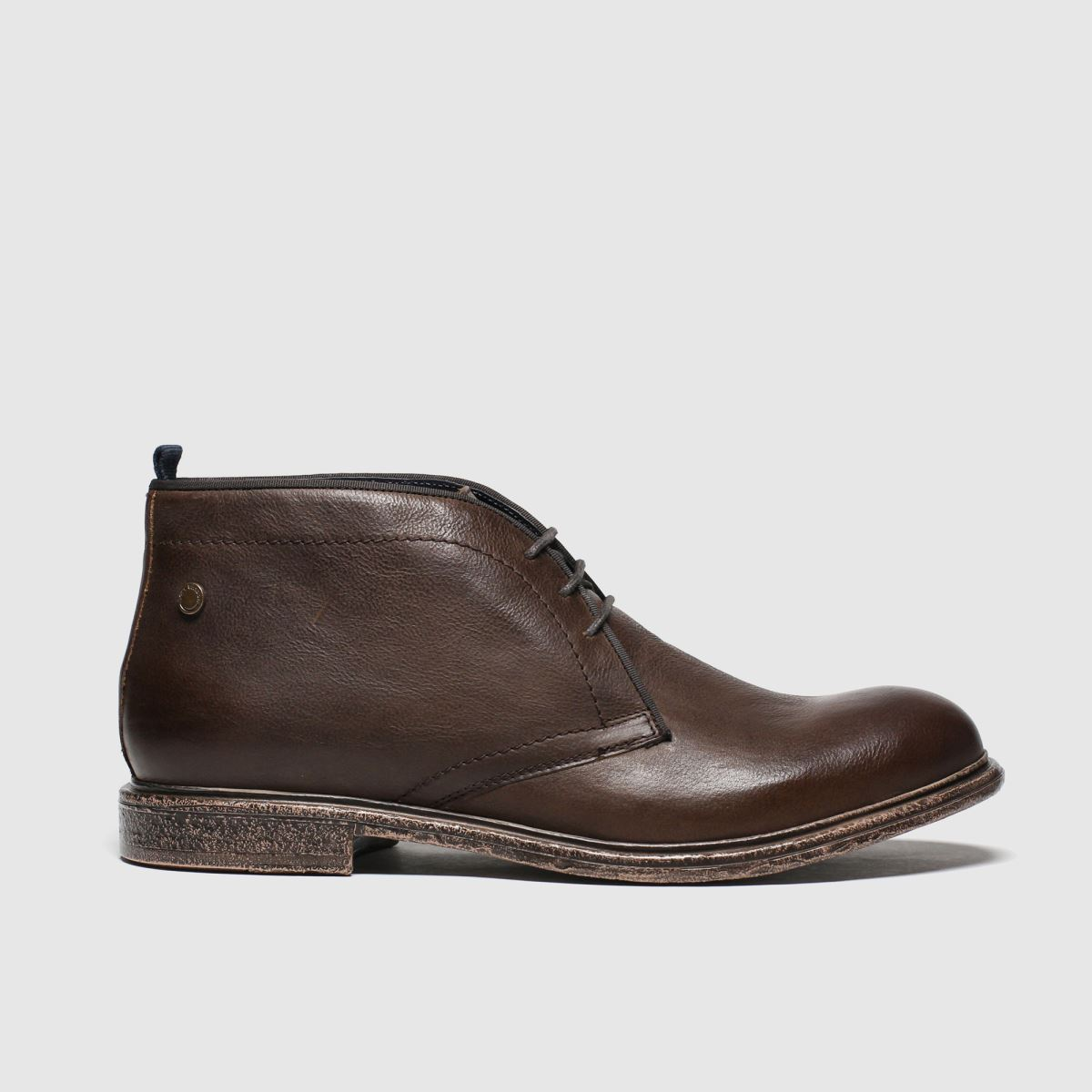 Base London Brown Jasper Boots