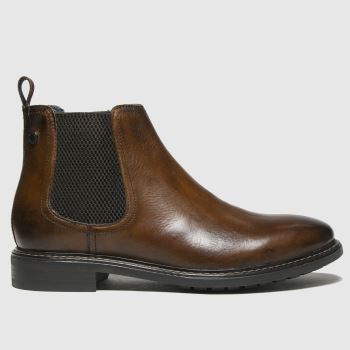 Base London Dark Brown Seymour Mens Boots#