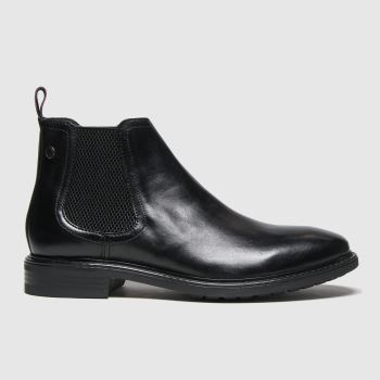 Base London Black Seymour Mens Boots