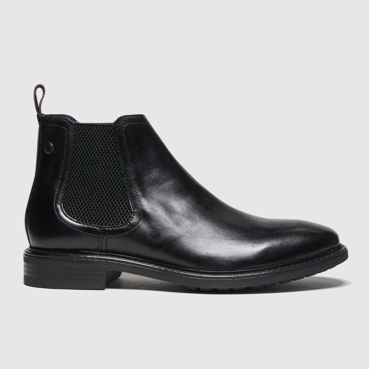 Base London Black Seymour Boots