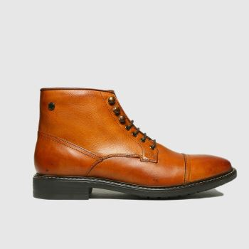 base london Tan Conrad Mens Boots