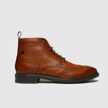 Base London Tan Berkley Boots