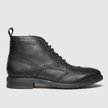 Base London Black Berkley Mens Boots