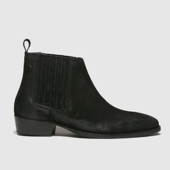 Base London Black Monroe Mens Boots