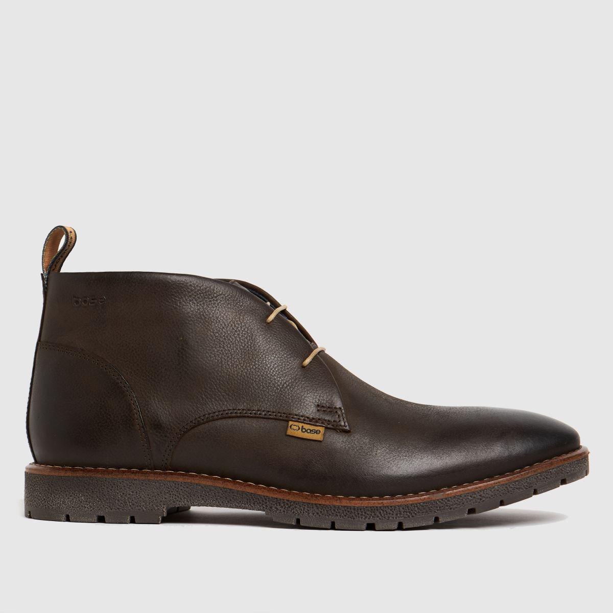 Base London Brown Miller Boots