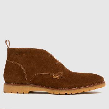 Base London Tan Miller Mens Boots