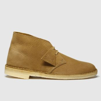 Clarks Originals Tan Desert Boot Mens Boots