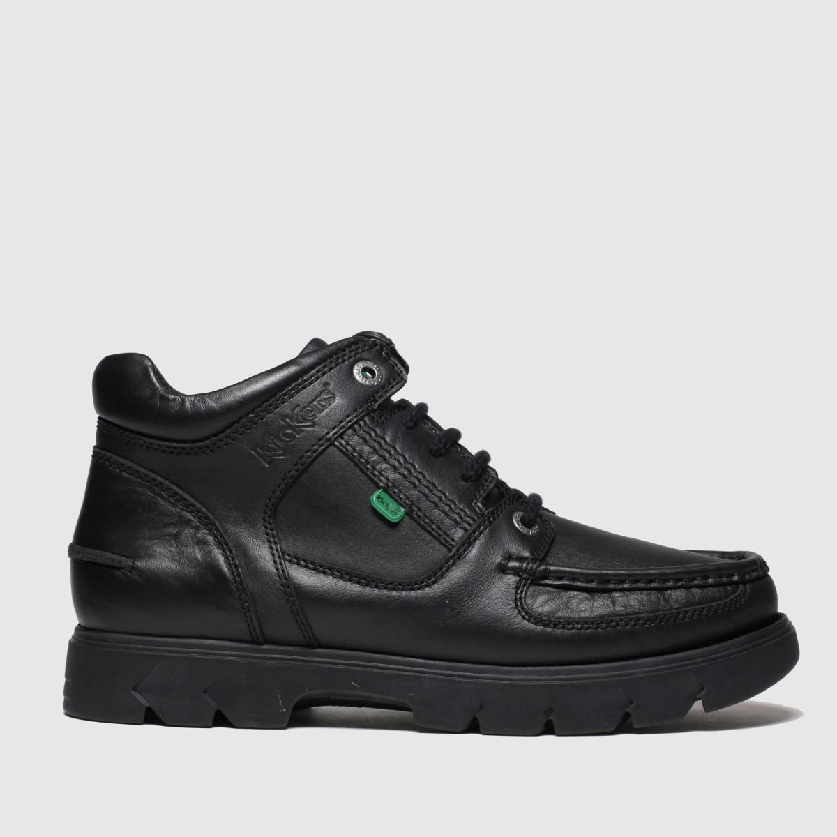 Kickers Black Lennon Mid Boots