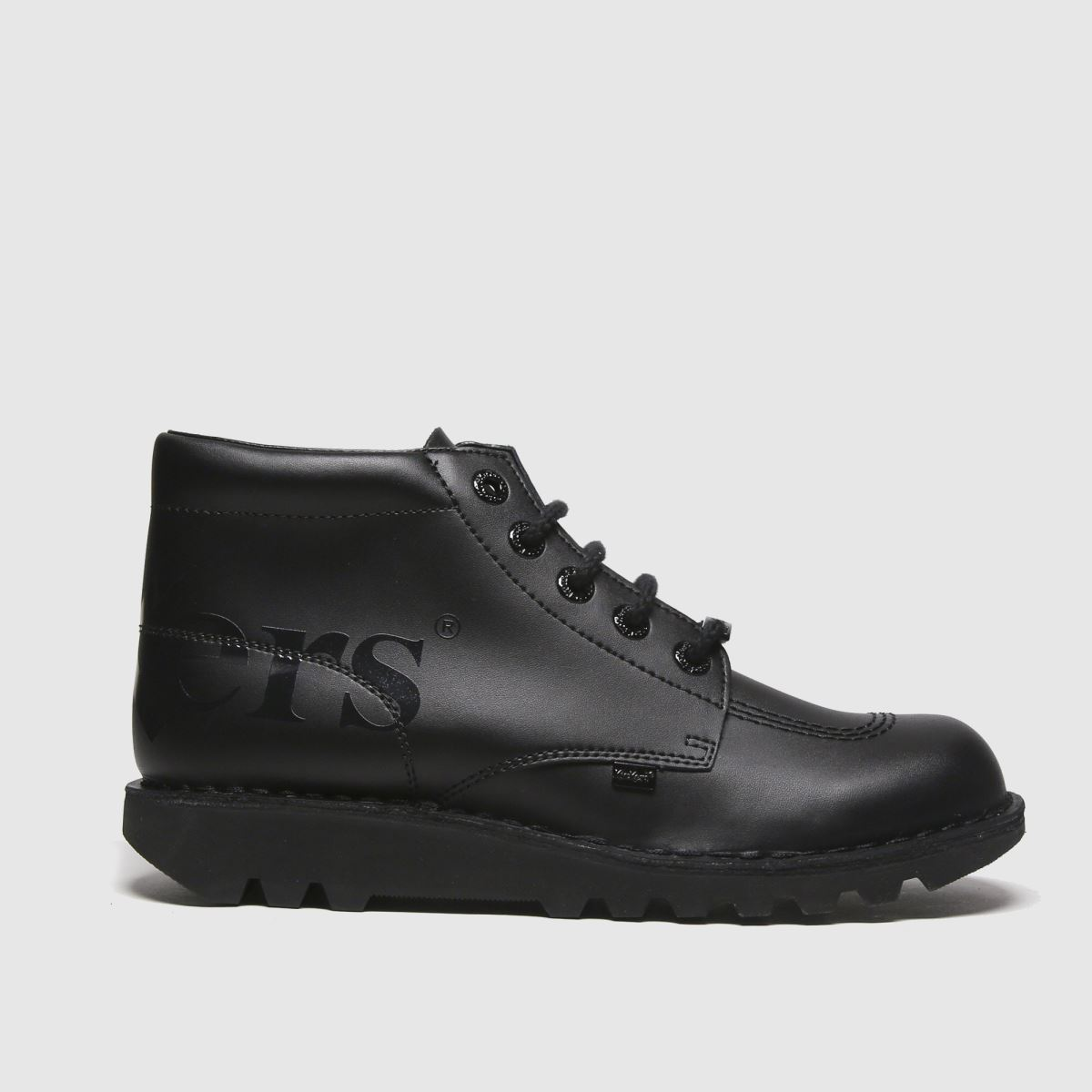 Kickers Black Kick Hi Luxx Boots