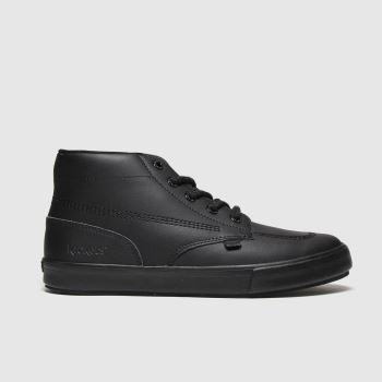 KicKers Black Tovni Hi Mens Boots