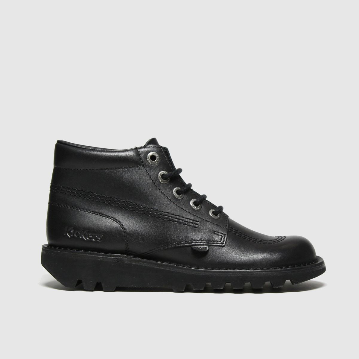 Kickers Black Kick Hi Mono Boots