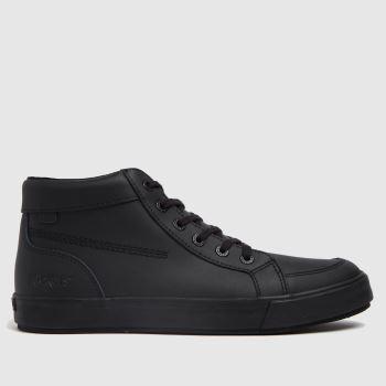 Kickers Black Tovni Hi Mono Mens Shoes