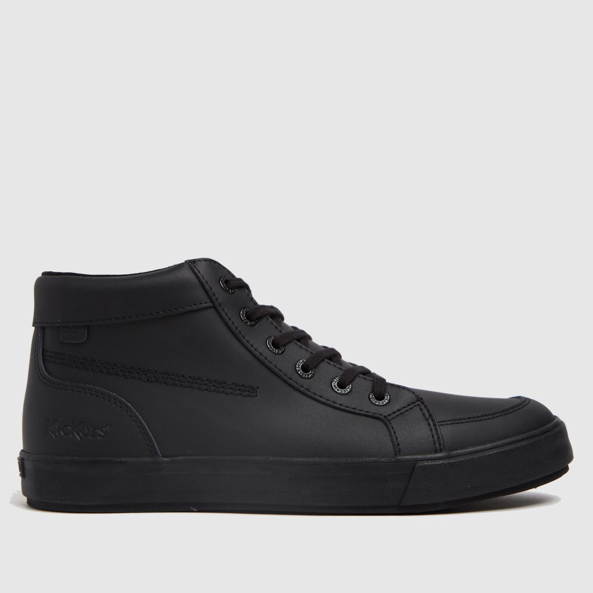 Kickers Black Tovni Hi Mono Shoes