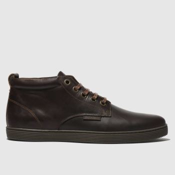 Red Or Dead Dark Brown Mr Hickling High Mens Boots