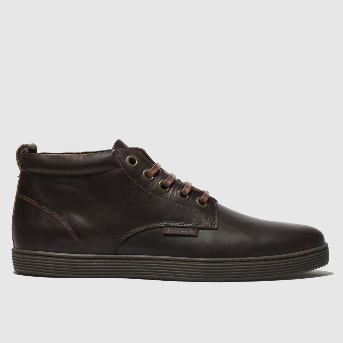 Red Or Dead Dark Brown Mr Hickling High Boots