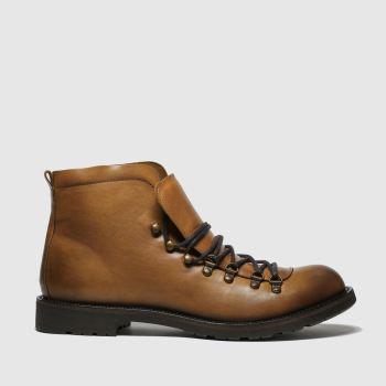 Schuh Hellbraun Captain Herren Boots