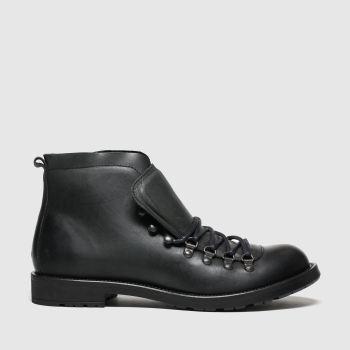 schuh Black Captain Mens Boots