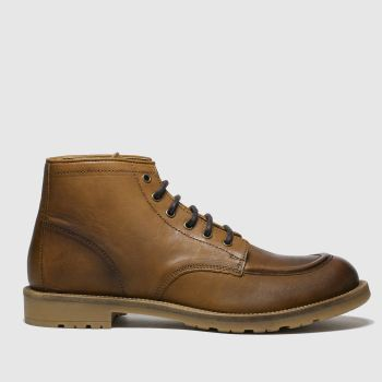 Schuh Tan Angus Mens Boots