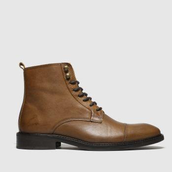 Schuh Tan Malik Mens Boots