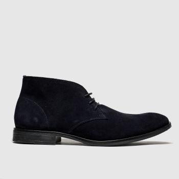 Schuh Navy Bayjee Chukka Mens Boots
