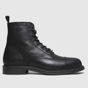 schuh black broseph lace up boots