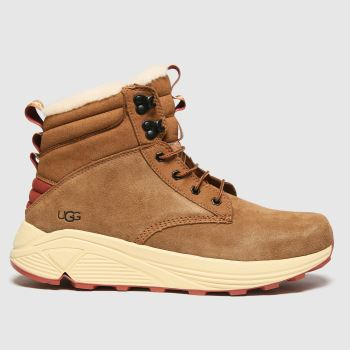 UGG Tan Miwo Utility Mens Boots#
