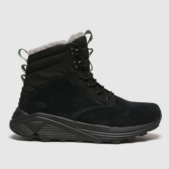 UGG Black Miwo Utility Mens Boots#