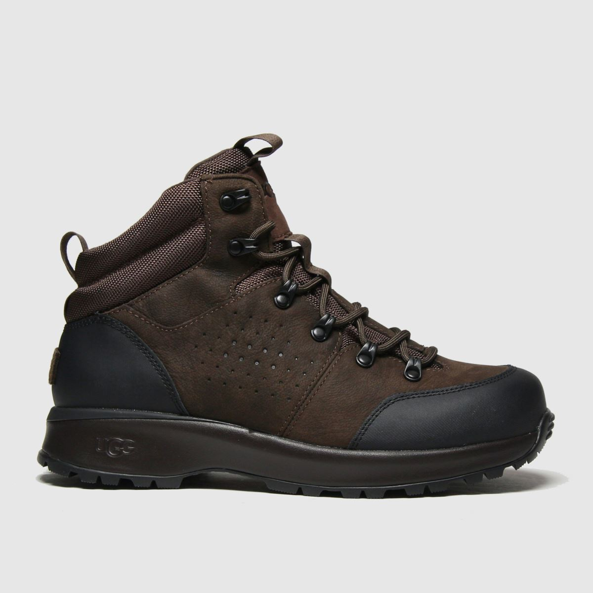 UGG Brown Emmett Boot Mid Boots