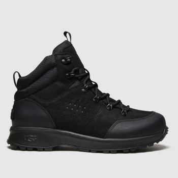 UGG Black Emmett Boot Mid Mens Boots