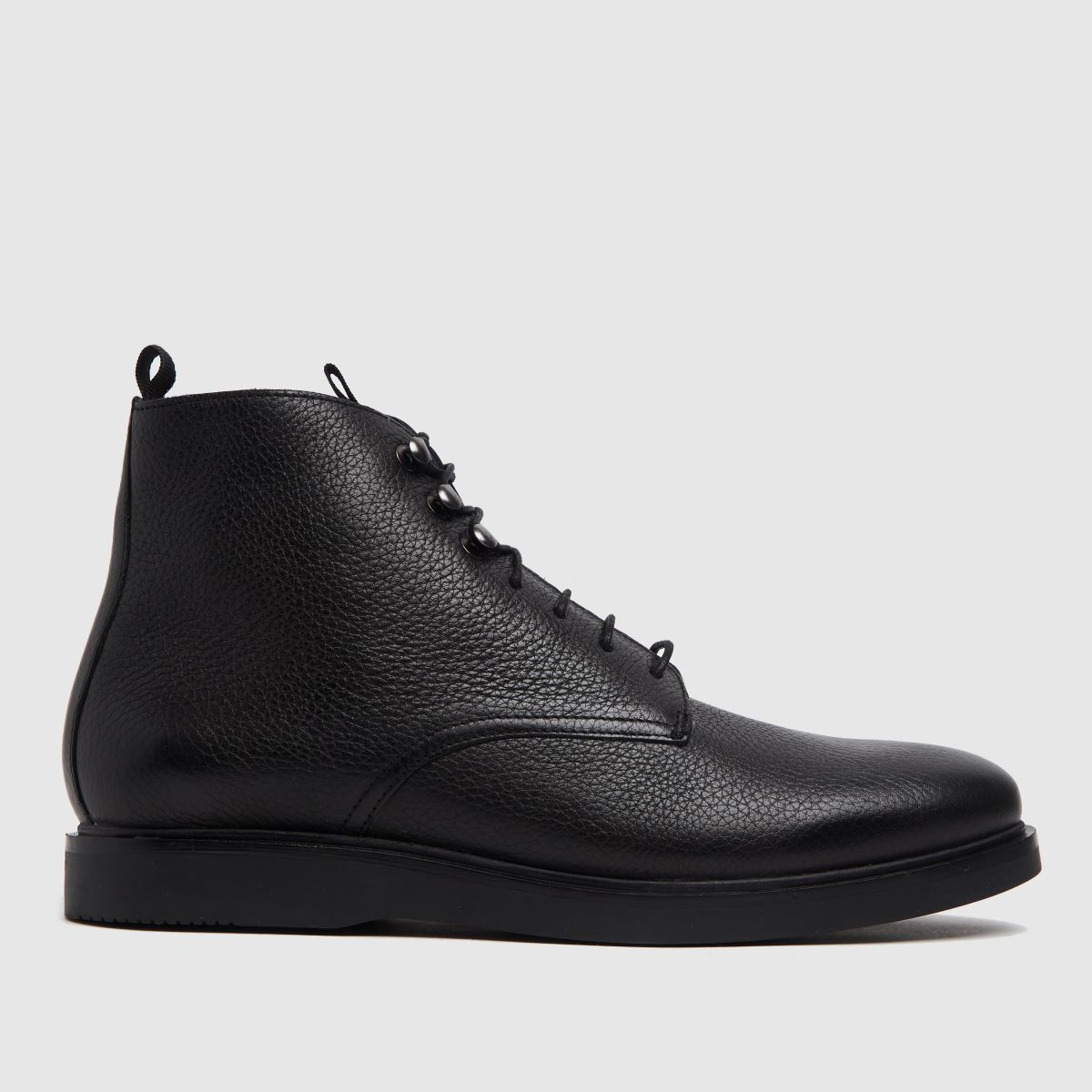 H BY HUDSON Black Battle Boots
