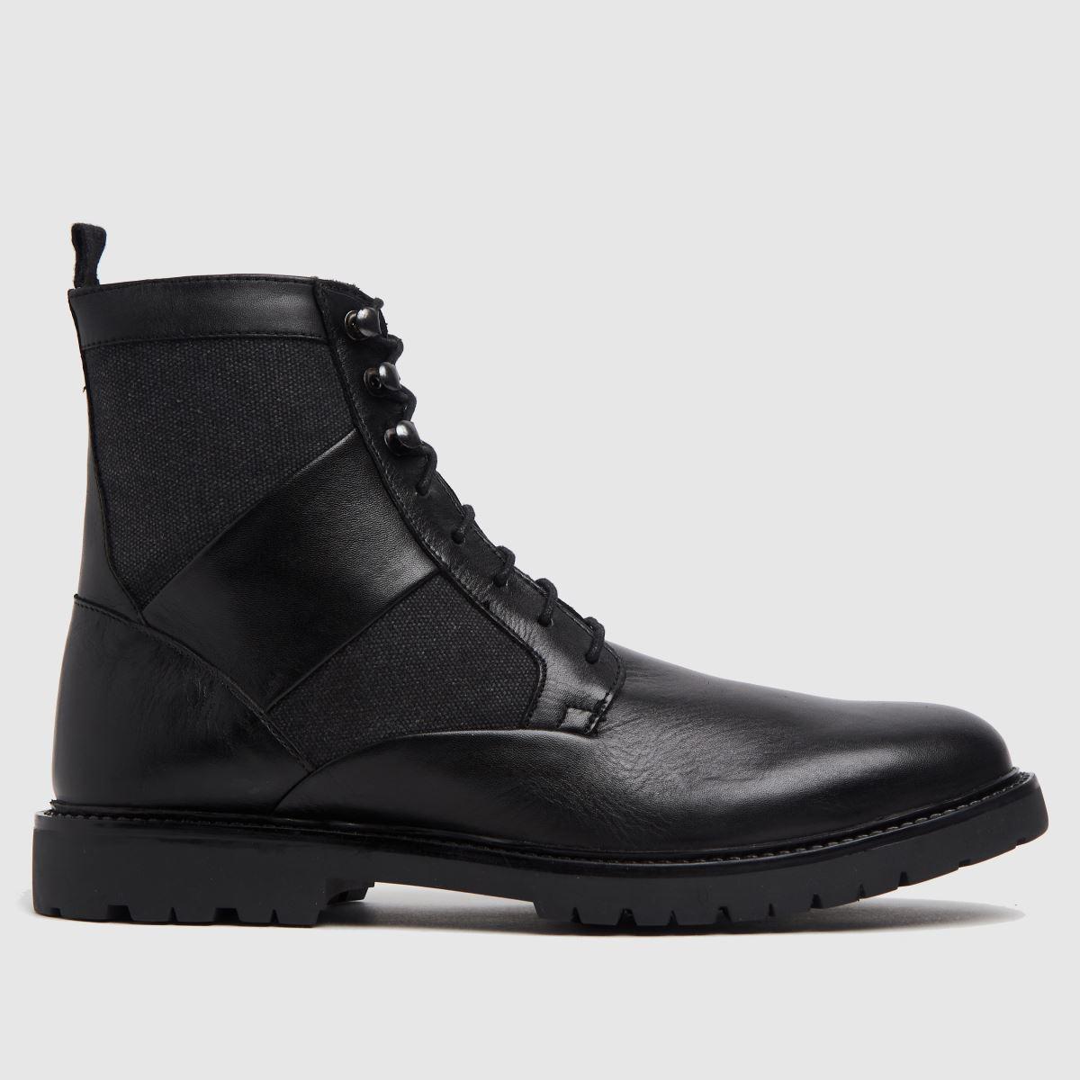 H BY HUDSON Black Lars Boots