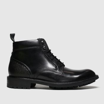 Ted Baker Black Wottsn Mens Boots