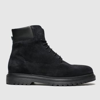 Shoe The Bear Black Heard Mens Boots