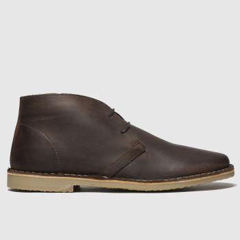 schuh Brown Simpson Desert Mens Boots