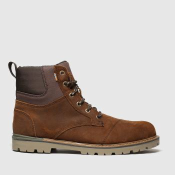 Toms Brown Ashland Mens Boots