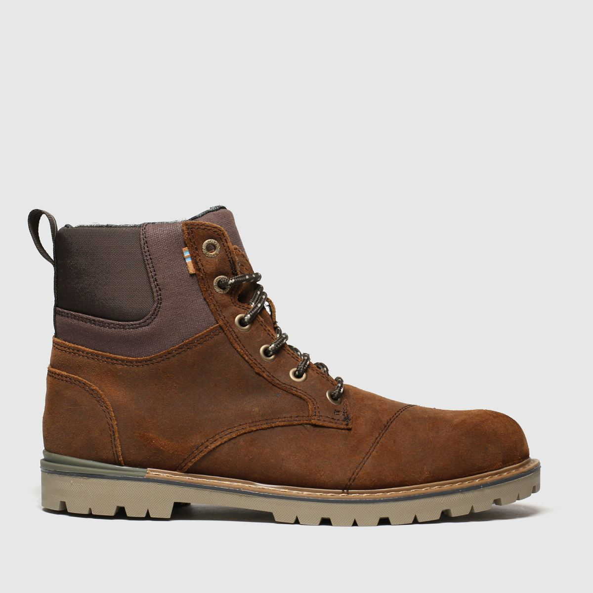 Toms Brown Ashland Boots
