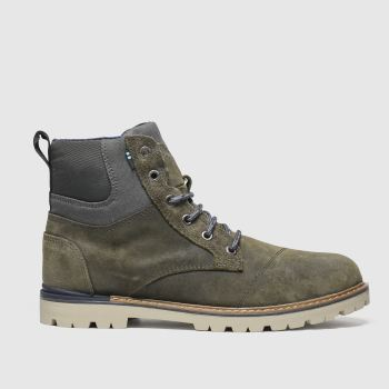 Toms Dark Grey Ashland Mens Boots