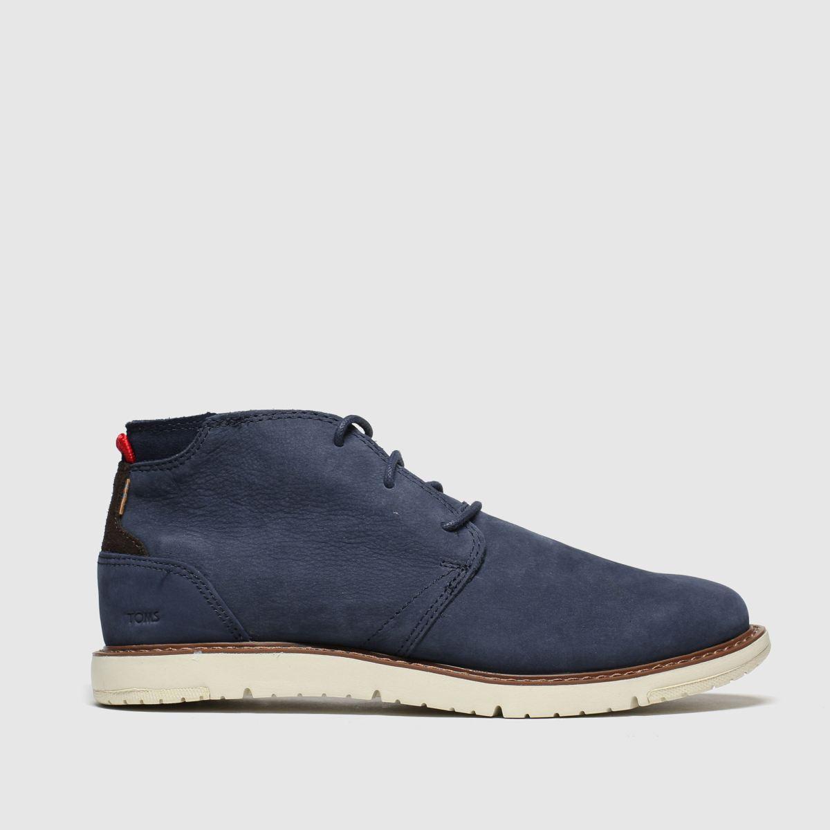Toms Navy Navi Boots