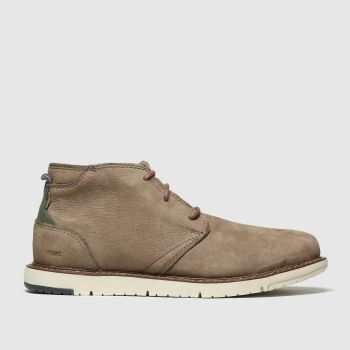 TOMS brown navi boots