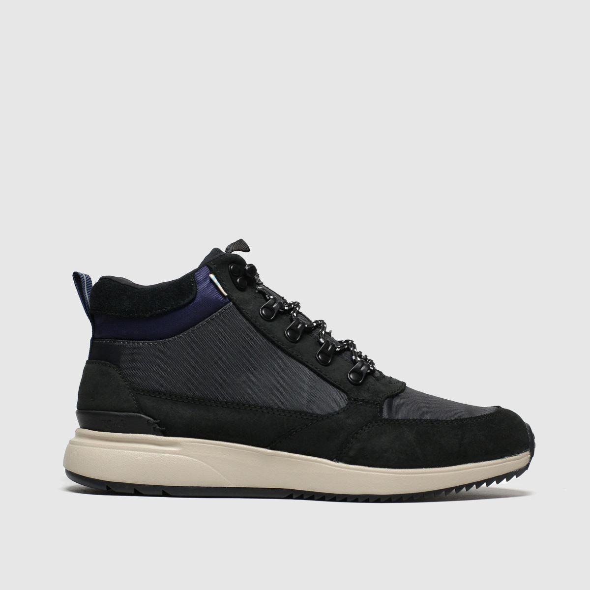 Toms Black Skully Boots