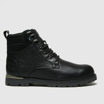 TOMS Black Ashland 2.0 Mens Boots#